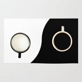 Yin yang symbol Rug