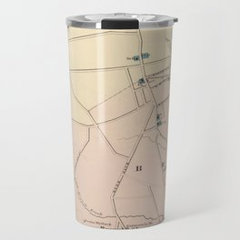 Vintage Map of Long Branch NJ (1872) Travel Mug