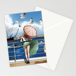 Penny Rogers - Hot wind Stationery Cards
