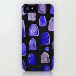 watercolor humps iPhone Case