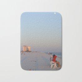 Sunset on the Beach Bath Mat