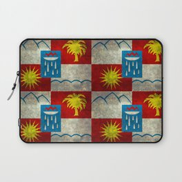 Sochi flag - Vintage version Laptop Sleeve