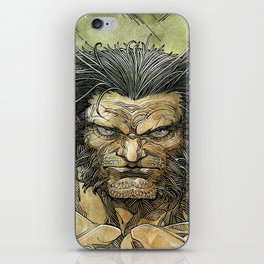 Logan by Roger Cruz iPhone Skin