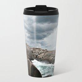 Peggy's Cove Light House -- Nova Scotia Travel Mug