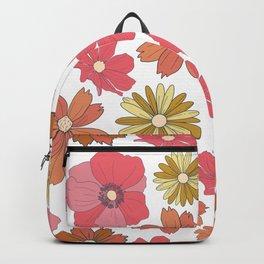 Retro Flora Backpack