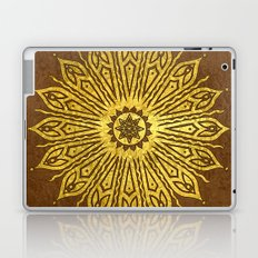 ozorahmi copper mandala Laptop & iPad Skin