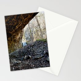 Alone in Secret Hollow with the Caves, Cascades, Critters, No. 14 of 21 Stationery Cards
