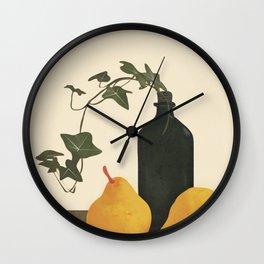 Still Life Art III Wall Clock