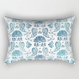 Portuguese Ceramics Rectangular Pillow