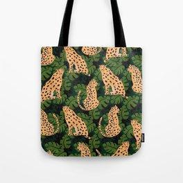 Cheetah Pattern Tote Bag