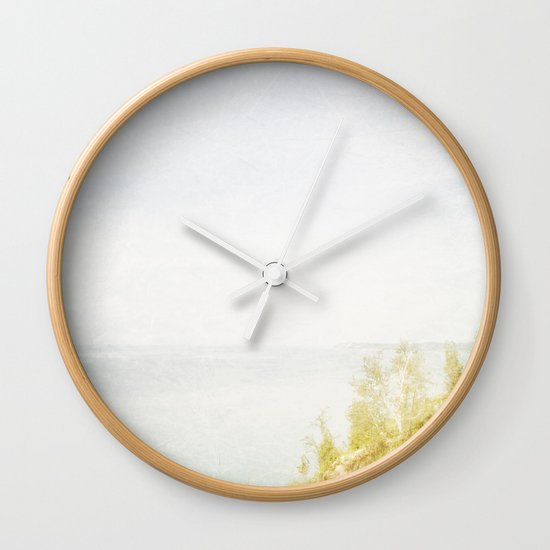 Dream Big Hillside Wall Clock