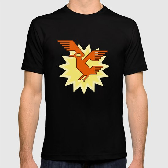 Geometric Andean Condor Bird T-shirt