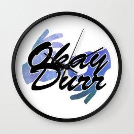 Okay Durr Wall Clock