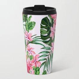 Green Tropical Mood Travel Mug