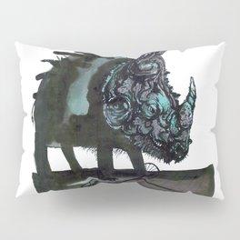 Rhinoceros on wheels Pillow Sham
