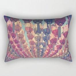 Paper Lanterns Rectangular Pillow