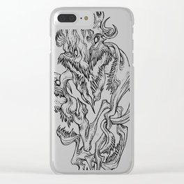 God Of The Wild Eternity Clear iPhone Case