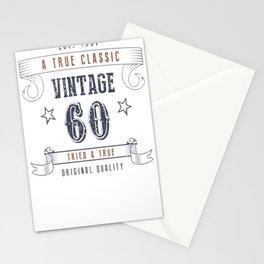60th-Birthday---Vintage-60-Tried-&-True Stationery Cards