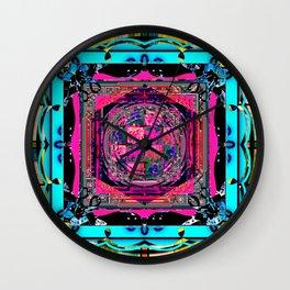 Framed 10 Wall Clock