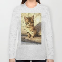 All Cats Are Black In The Dark Long Sleeve T-shirt