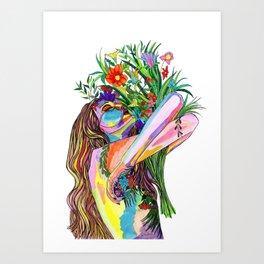 Senses Art Print