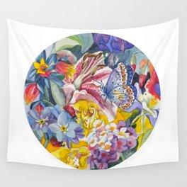 Summer garden Wall Tapestry