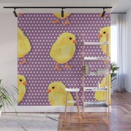 Chiken pattern Wall Mural