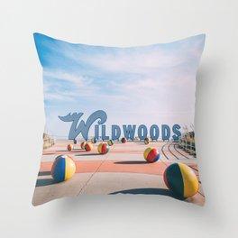 Wildwoods Throw Pillow