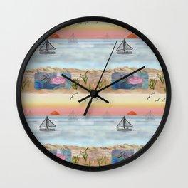 Tranquillity Beach July 2020 Wall Clock