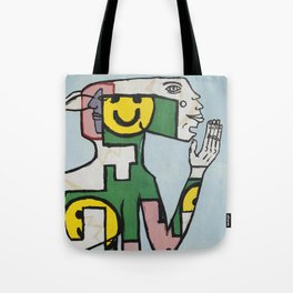 Yawn Again Tristan. Tote Bag