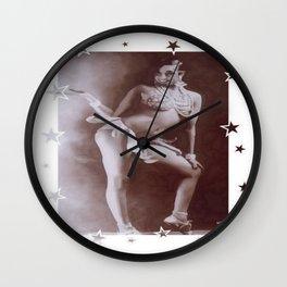 Josephine Baker - Banana Skirt Wall Clock