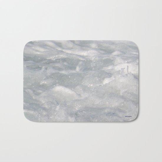 TEXTURES: Laguna Beach Sea Foam #1 Bath Mat