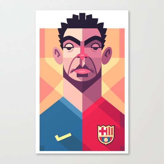 X6 | Blaugrana Canvas Print