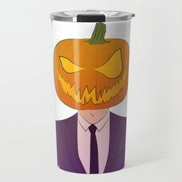 Mr. Pumpkin Travel Mug