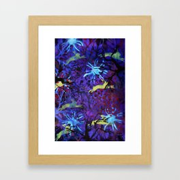 Dreamy nights Framed Art Print