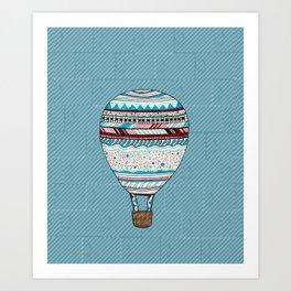 Candy Balloon Art Print
