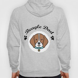 Beagle Dad Funny Love Dog Pet Gift Hoody