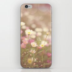 Dreaming of Flowers iPhone & iPod Skin