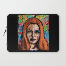 The Queen of all Tomorrow's Laptop Sleeve