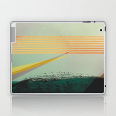 go away, black clouds Laptop & iPad Skin