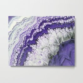 Purple-icious Metal Print