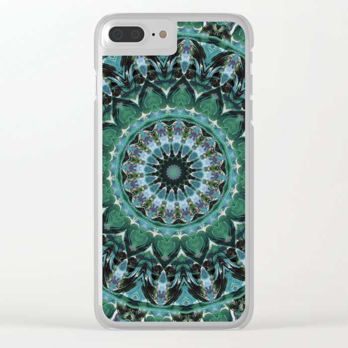 i heart you ii Clear iPhone Case