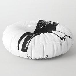 Lone Raven Floor Pillow