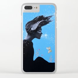 Goddess of Earth ans Sky Clear iPhone Case