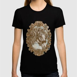 Ornate Horse Portrait T-shirt