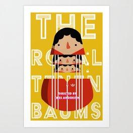 Chas Tenenbaum Art Print