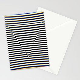 Trippy Triangle Stationery Cards