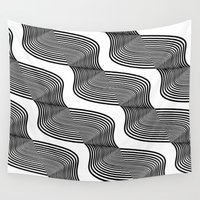 waves Wall Tapestries featuring Waves by Norman Duenas
