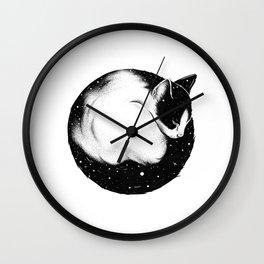 STARRY CAT Wall Clock