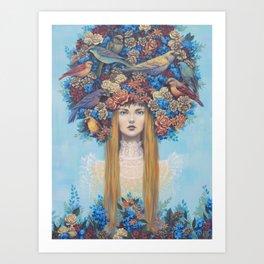 Roost Art Print